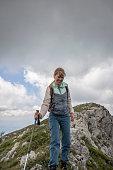 istock Girl hiker 1255386985