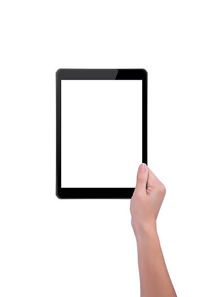 Mädchen mit dem tablet – Foto