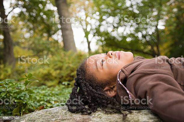 Photo of Girl in a forest