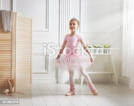 1128473822 istock photo girl in a pink tutu 541982918