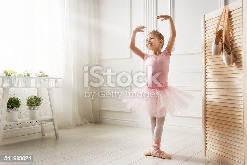 1128473714 istock photo girl in a pink tutu 541983624