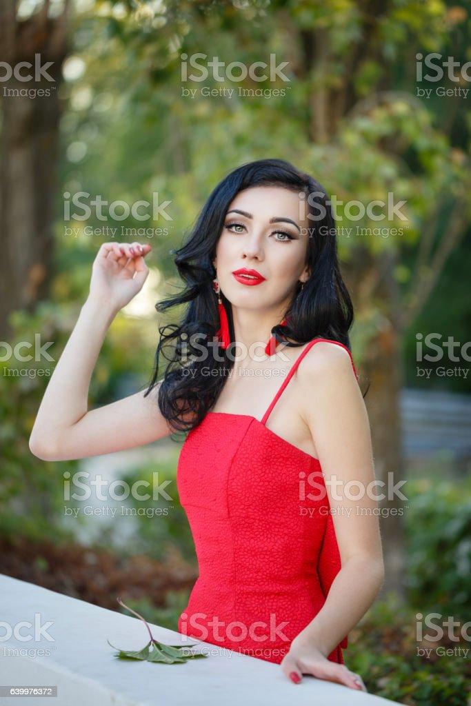 Girl In Art Deco Style Retro Portrait Stock Photo Download Image Now Istock