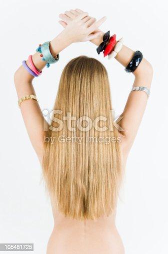 istock Girl in bracelets 105481725