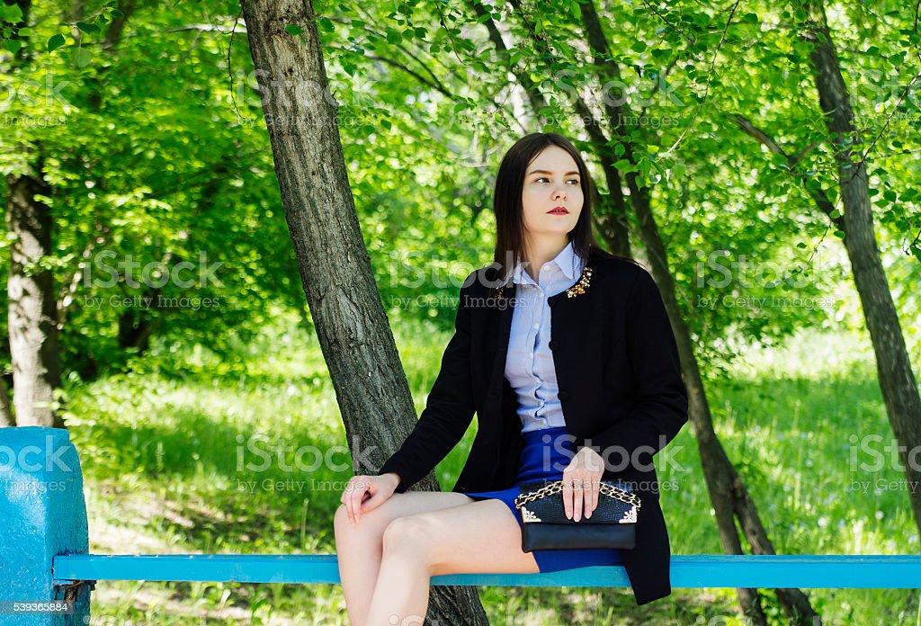 девушка модель дерево работ используется
