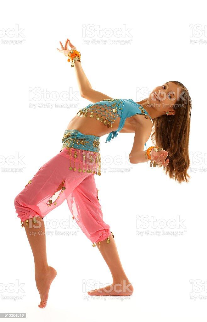 Frau in orientalischer Kleidung – Foto