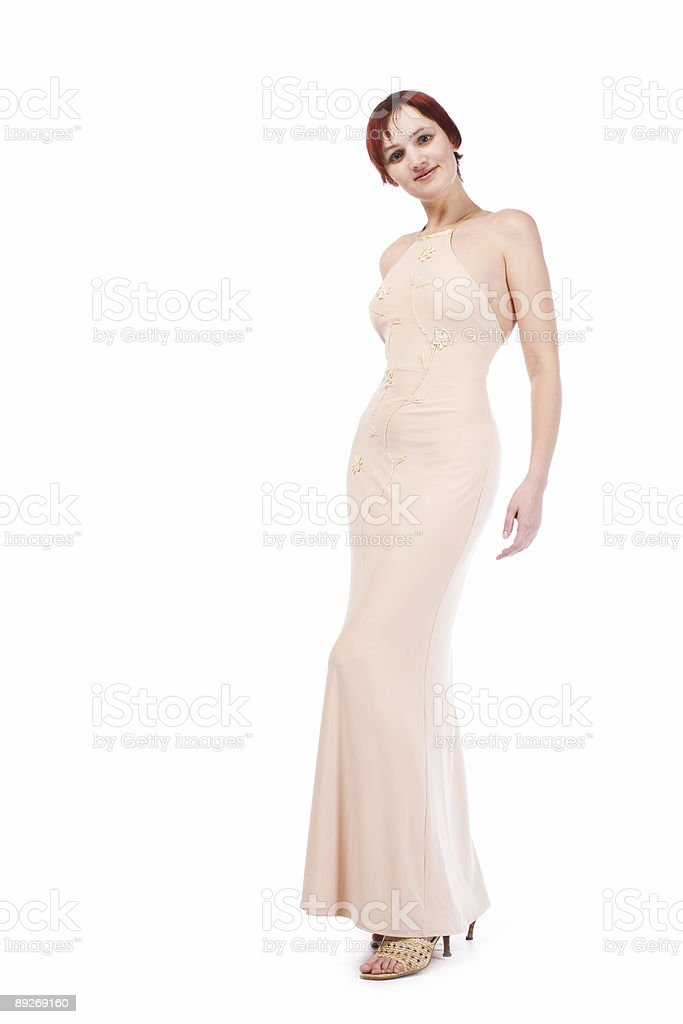 girl in sexy dress royalty-free stock photo