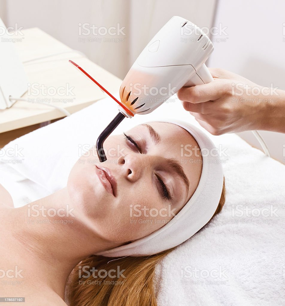 girl  in spa clinic royalty-free stock photo
