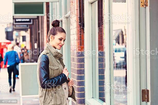 Girl In The City Stock Photo - Download Image Now