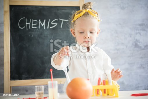 492992868 istock photo Girl in the laboratory of food quality tests 492946482