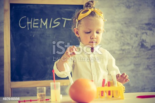 492992868 istock photo Girl in the laboratory of food quality tests 492946556