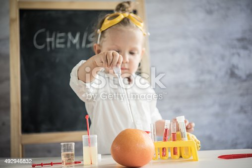 492992868 istock photo Girl in the laboratory of food quality tests 492946832
