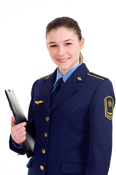 dziewczyna w strój - konduktor pociągu zdjęcia i obrazy z banku zdjęć