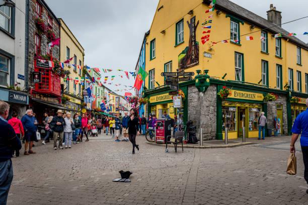 Mädchen ist Tap-Tanzen in Galway – Foto
