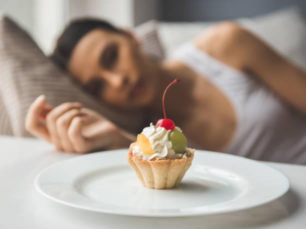 Mädchen halten Diät – Foto