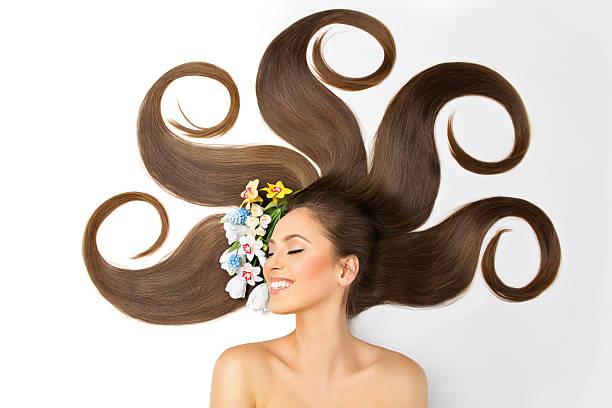 Dziewczyna z Długie włosy – zdjęcie