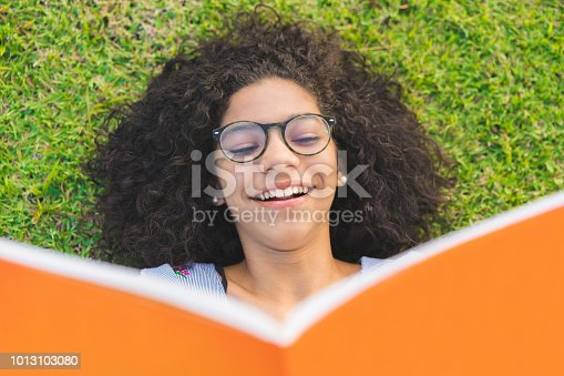 Reading, Student, Grass, Book, People