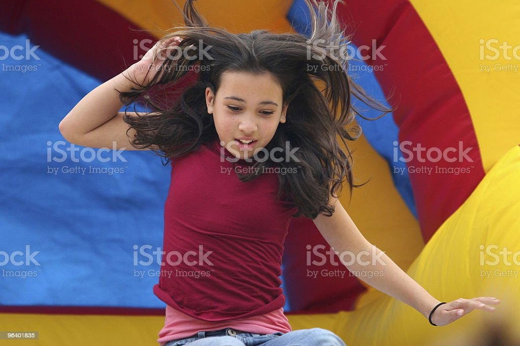 Girl on playground - Royalty-free Adult Stock Photo