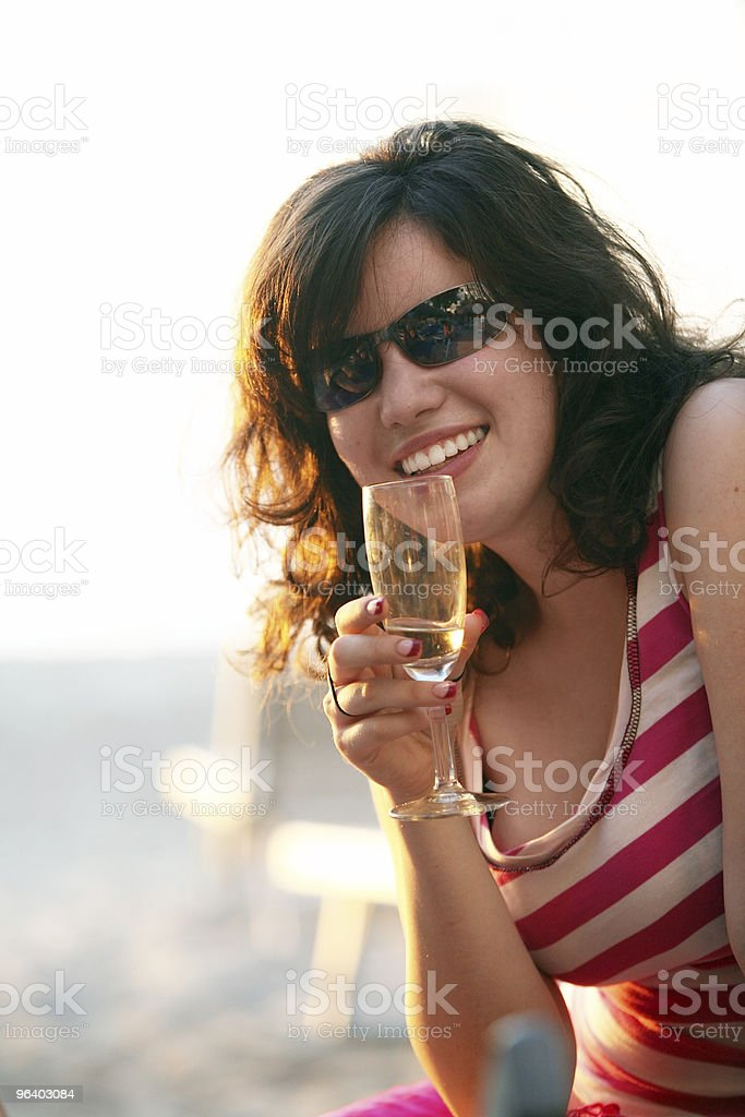 Girl on vacation - Royalty-free Adult Stock Photo
