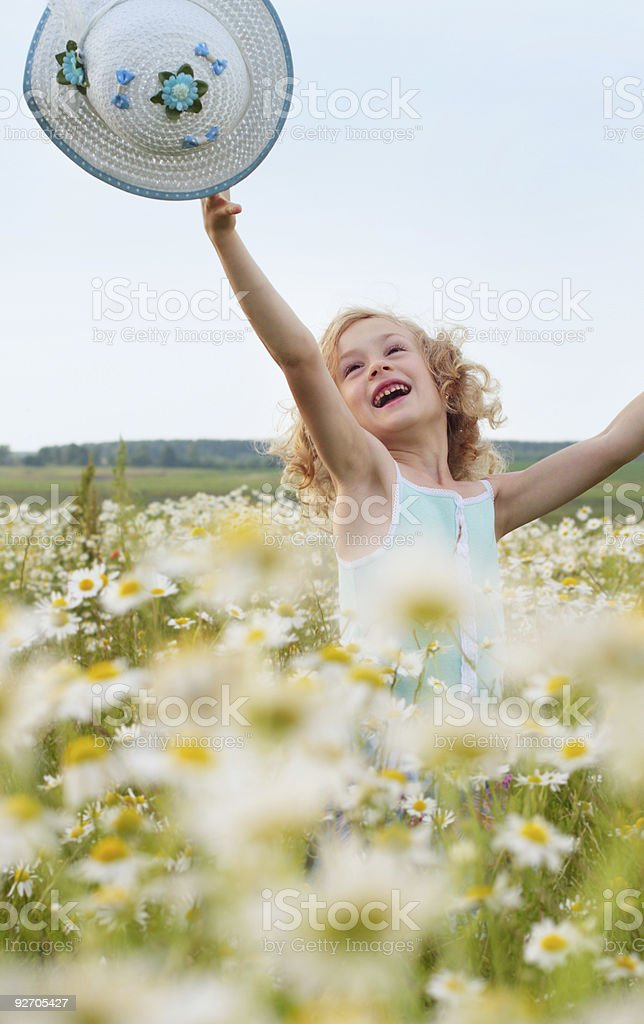 girl outdoor royalty-free stock photo