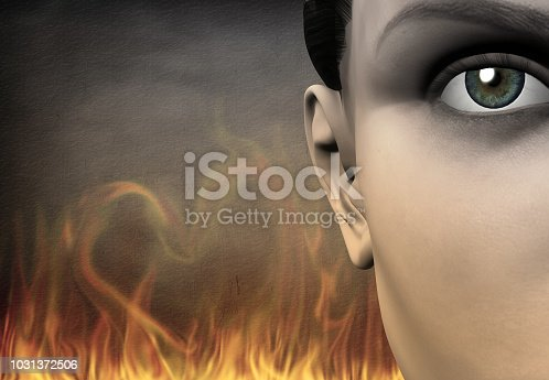 860245894 istock photo Girl Passion Love 1031372506