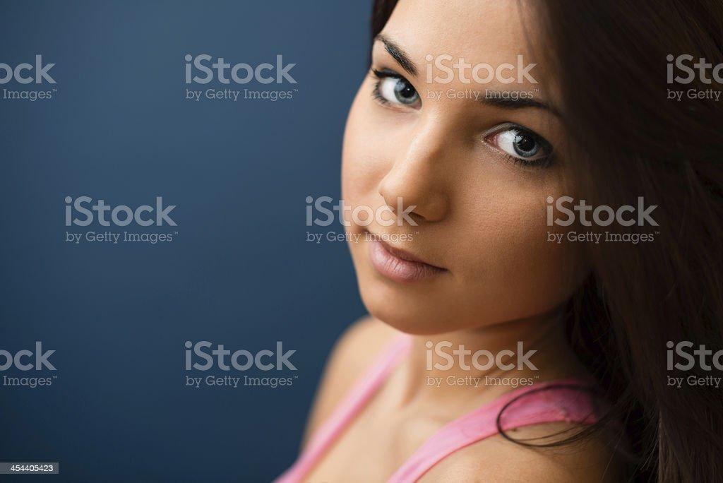 Girl portrait. royalty-free stock photo