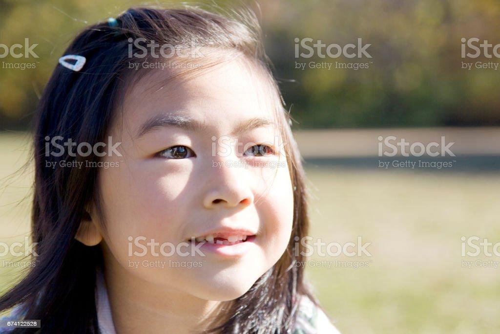 女孩畫像 免版稅 stock photo