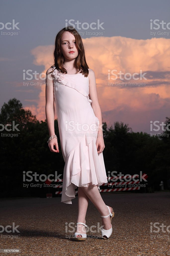 Girl Posing stock photo