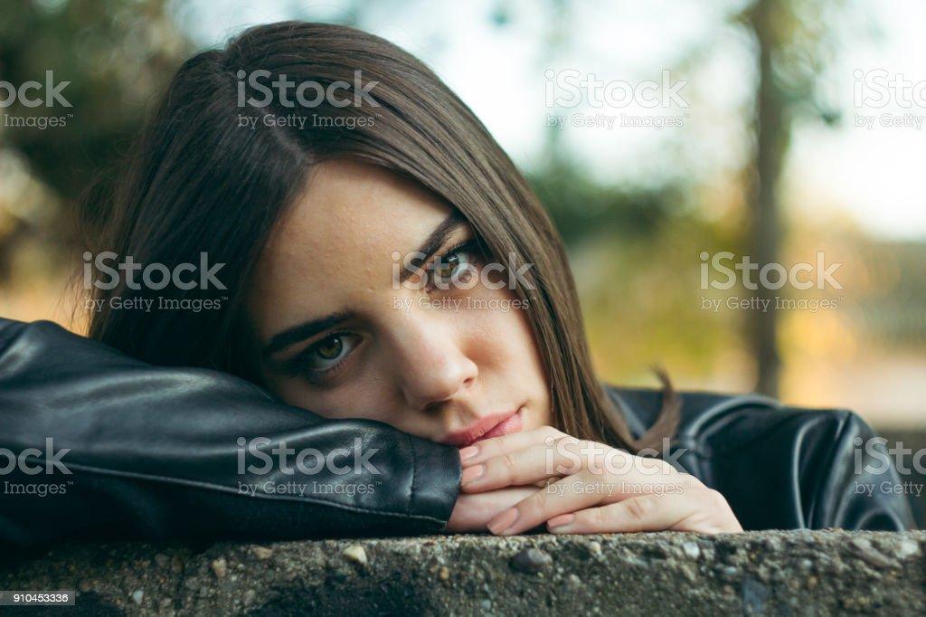 Girl potrait royalty-free stock photo