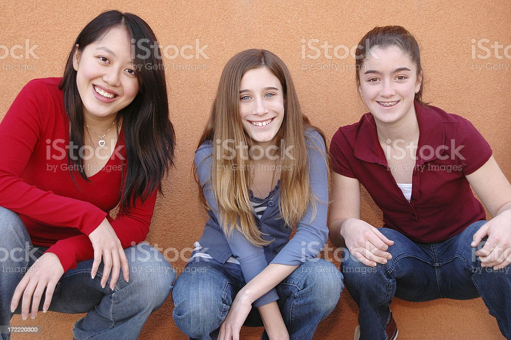 Girl power 2 royalty-free stock photo