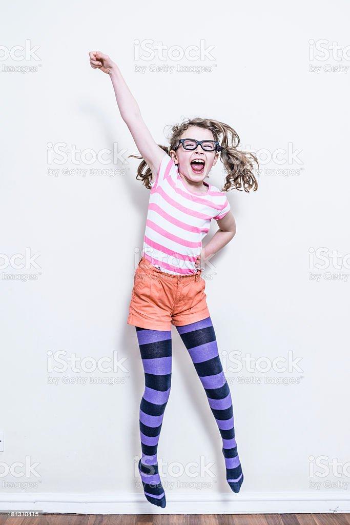 Girl Power stock photo