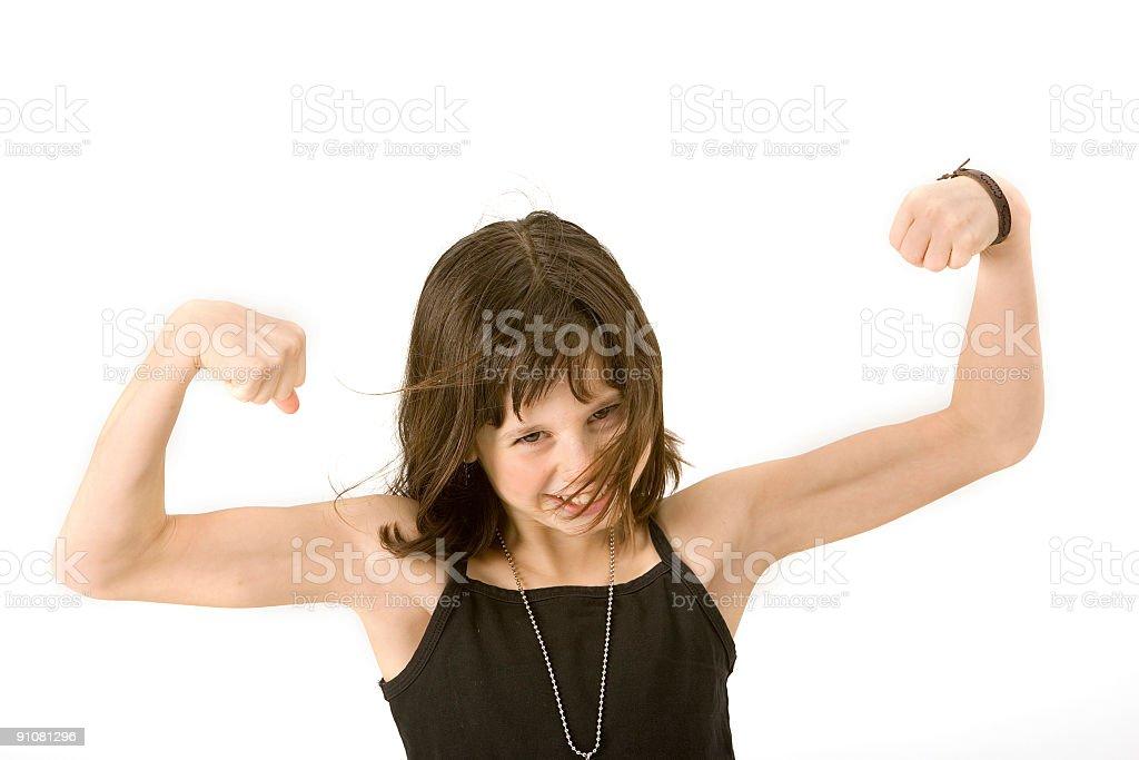 girl power royalty-free stock photo