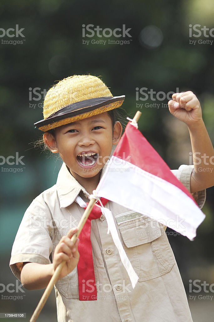 Girl Scout stock photo
