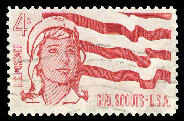 Girl Scouts (XXL) stock photo