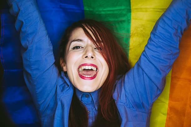 Lesbian Sexual Activity Women Multi Colored  - Istock-9442