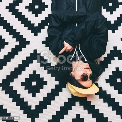 istock girl shows aggressive gesture 628117766