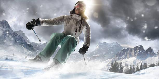 Girl skiing fast in ski resort picture id528194281?b=1&k=6&m=528194281&s=612x612&w=0&h=elscznii 0kcx3o1ygy2lmqkwu17u 8roxhzivpcthe=