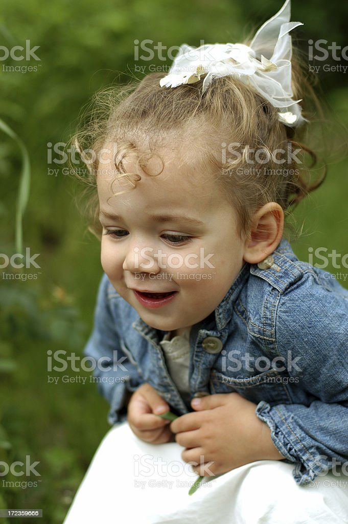 Girl Smiling royalty-free stock photo