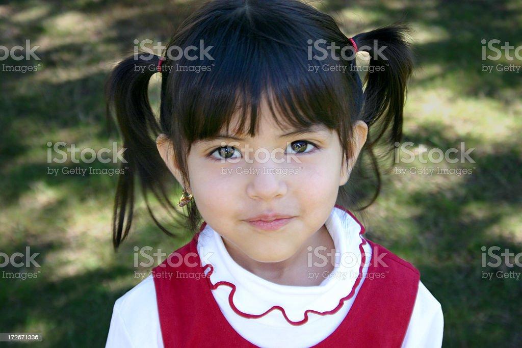 Girl Smiling royalty-free stock photo
