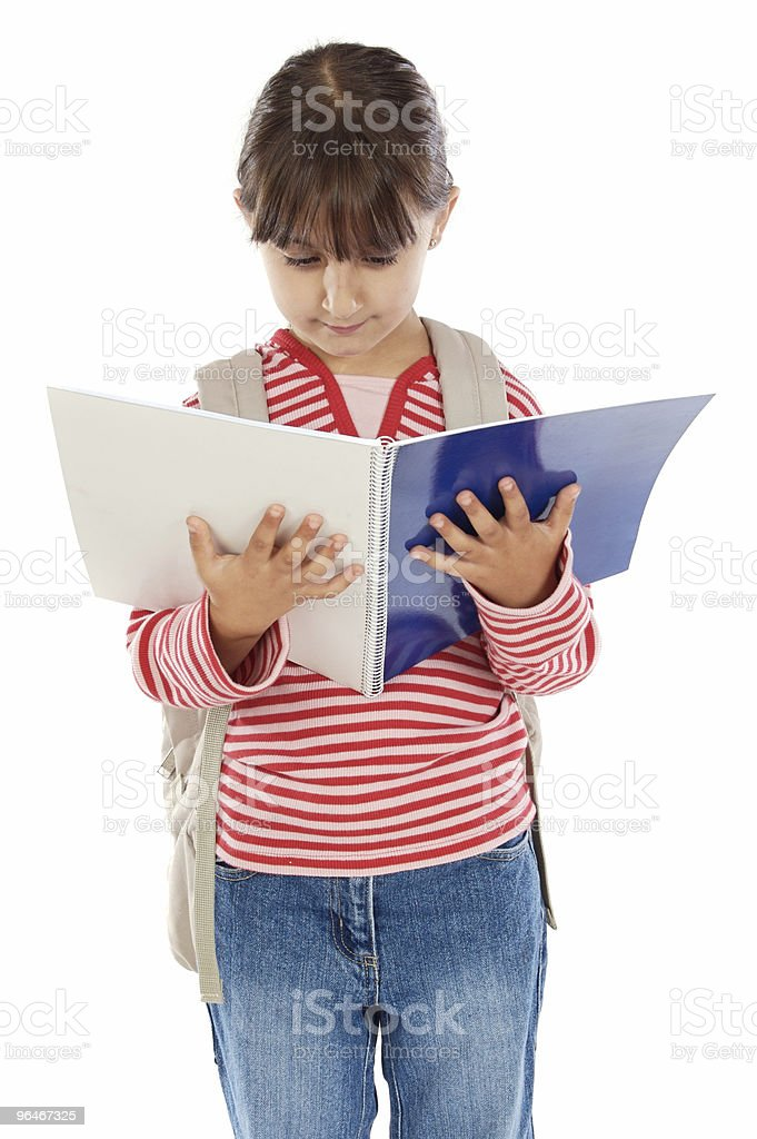 girl student royalty-free stock photo