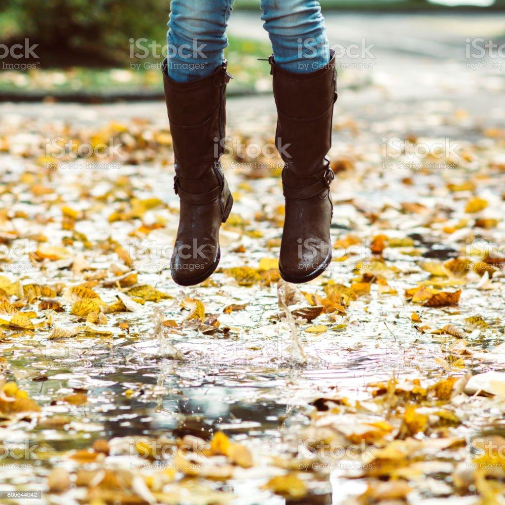 Botas de lluvia con abrigo