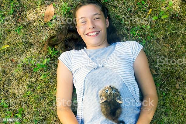 Girl with kitten picture id611892104?b=1&k=6&m=611892104&s=612x612&h=9vyevodmzwyrsjgtmu7sm j70b dkhlu4sq4fhwqgng=