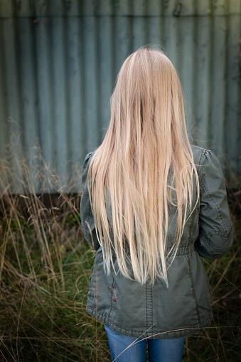 Haare hinten blonde von 15 kurzer