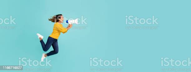 Girl with megaphone jumping and shouting picture id1166716527?b=1&k=6&m=1166716527&s=612x612&h=jm6et7gs0hlln1umrtdvto hjlkmdnct3imtmevl xq=