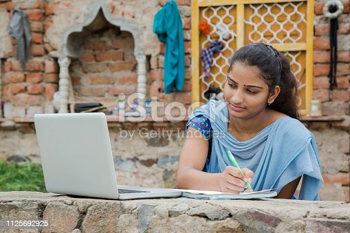 Student, education, rural, village, at home,