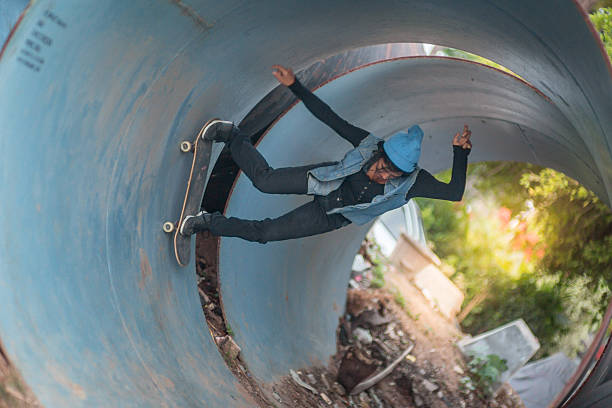 Girl_skateboard_sport – Foto