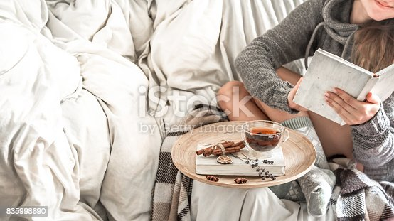 istock girl,comfort and warmth 835998690