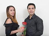 istock Girlfriend and boyfriend on Valentine's day 547440074