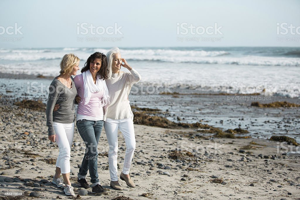 Girlfriends for life royalty-free stock photo