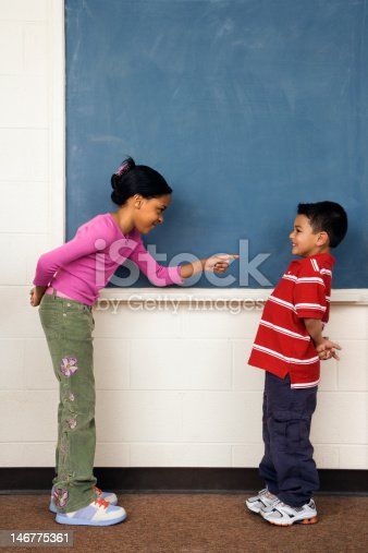 istock Girls and Boy in Classroom 146775361