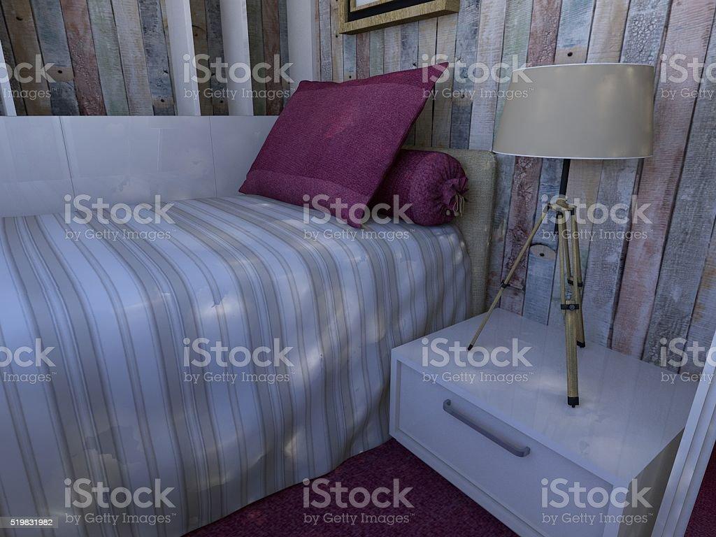 Mädchen S Schlafzimmer Stockfoto und mehr Bilder von Aktenschrank ...